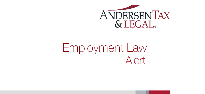 Employment Law and Social Security - Andersen Tax & Legal