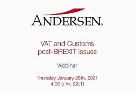 VAT and Customs post-BREXIT issues